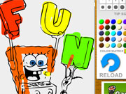 Play Spongebob Coloring game