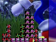 Sonic Tetris game