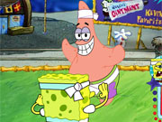Spongebob Sqaurepants Bikini Bottom Bust Up game