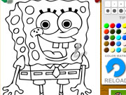 Spongebob Squarepants Coloring game