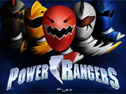 Power Rangers Dress Up 2 game