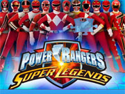 Powern Rangers Super Legends Jigsaw Puzzle game
