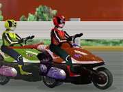 Power Rangers Moto Race game