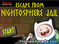 Adventure Time Escape from Nightosphere Jail game