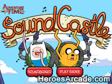 Adventure Time Sound Castle game