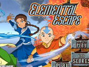 Play Avatar Elemental Escape game