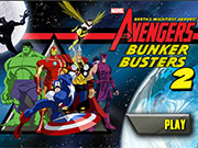 Play Avengers Bunker Busters 2 game
