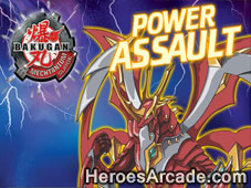 Bakugan Power Assault game