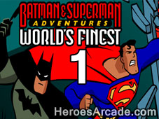 Play Batman and Superman Adventures Worlds Finest - Chapter 1 game