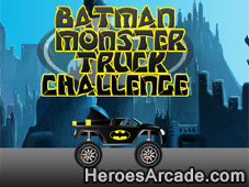 Play Batman Monster Truck Challenge game