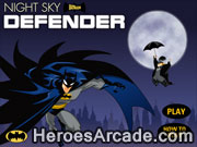 Play Batman Night Sky Defender game