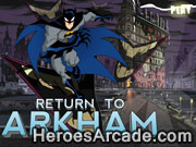 Batman Return to Arkham game