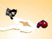 Play Batman Spiderman game