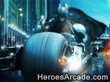 Play Batman The Dark Knight Rises - Gotham City Street Chase game