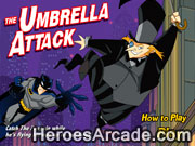 Play Batman - The Umbrella Attack game