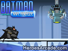 Batman Vs Mr. Freeze game
