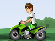 Ben 10 Atv Escape game