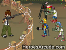 Play Ben 10 Kills Zombies game