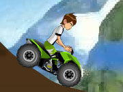 Play Ben 10 Mountain atv game