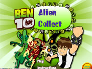 Play Ben 10 Alien Collect game