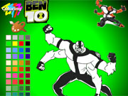 Ben 10 Alien Coloring Game