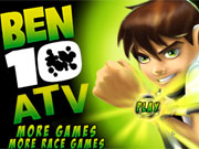 Play Ben 10 Atv game