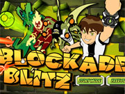 Play Ben 10 Blockade Blitz game