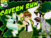 Play Ben 10 Cavern Run game