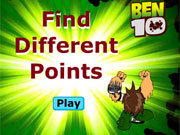 Play Ben 10 Find Differences game