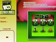 Play Ben 10 Find Me game