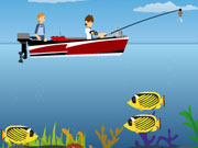 Play Ben 10 Fishing Pro game