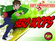 Play Ben 10 Hero Hoops game