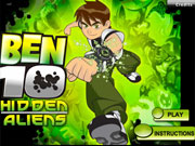 Ben 10 Hidden Aliens game