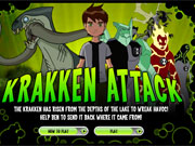 Ben 10 Kraken Attack