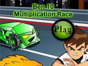 Ben 10 Math Race game
