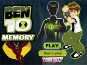 Play Ben 10 Memory game