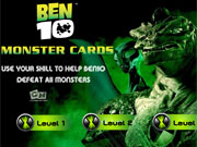 Ben 10 Monster Cards game