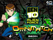 Ben 10 Omnimatch game