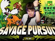 Play Ben 10 Savage Pursuit game