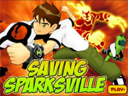 Ben 10 Saving Sparksville