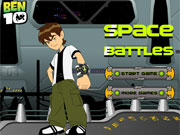 Play Ben 10 Space Battles game