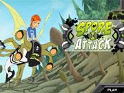 Ben 10 Spore Attack game