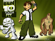 Play Ben 10 Statue Fix game