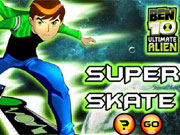 Play Ben 10 Super Skate game