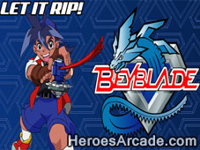 Beyblade Let it Rip game