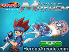 Beyblade Master of Mayhem game