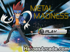 Beyblade Metal Madness game