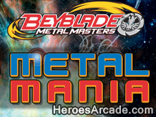 Beyblade Metal Mania game