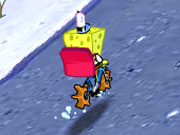 Play Spongebobs Pizza Toss game