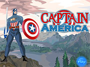 Play Captain America Dress Up game